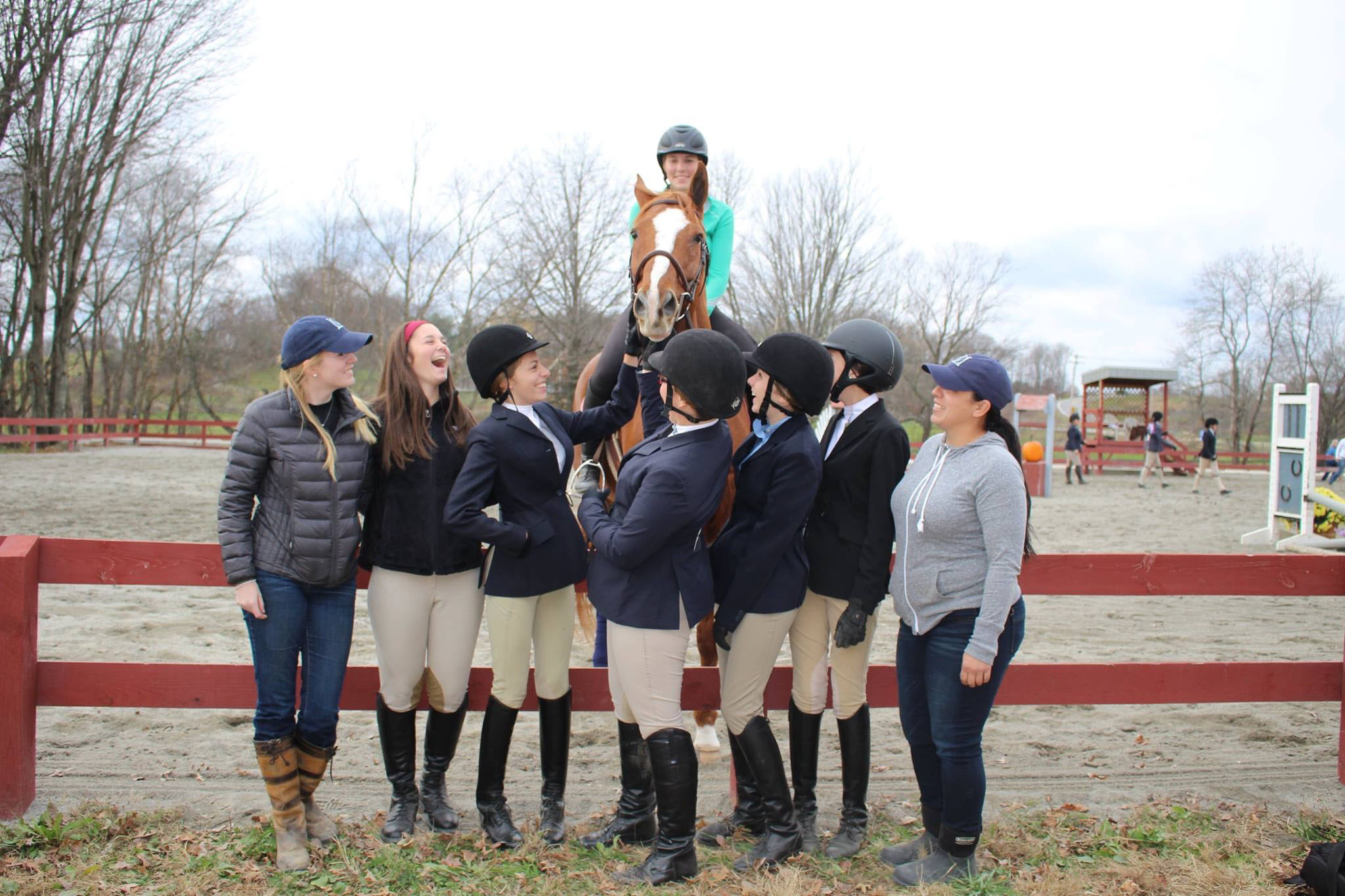 Meadow Creek Farm's Interscholastic Equestrian Association (IEA) Team for 2016
